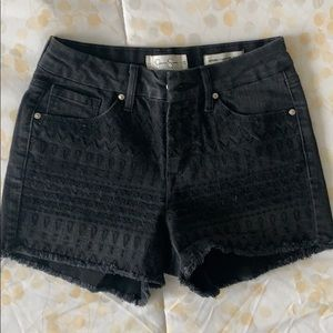 Jessica Simpson Jean Cut-Off Shorts.